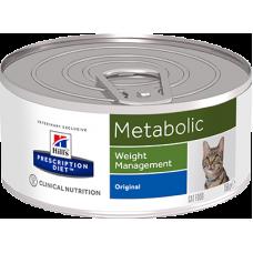 Hill's Prescription Diet METABOLIC консервы для улучшения метаболизма (коррекции веса), 156г (C37555)
