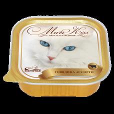 Зоогурман конcервы для кошек MurrKiss Говядина ассорти 100гр. (P24492)