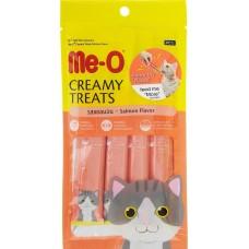 Me-O Крем-лакомство для кошек Лосось (4*15г) 60г