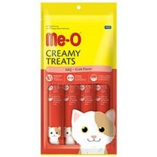 Me-O Крем-лакомство для кошек Краб (4*15г) 60г