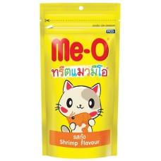 Me-O Лакомство для кошек зубочистики Креветки 50г