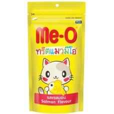 Me-O Лакомство для кошек зубочистики Лосось 50г