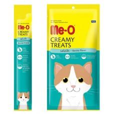 Me-O Крем-лакомство для кошек Макрель (4*15г) 60г