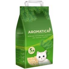 AromatiCat Древесный впитывающий наполнитель