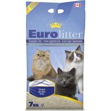 "Eurolitter Комкующийся наполнитель ""Контроль запаха"", без пыли (Dust Free) без запаха"