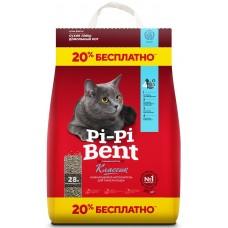 Pi-Pi-Bent Наполнитель для кошачьего туалета комкующийся 10кг+20% (P25450)