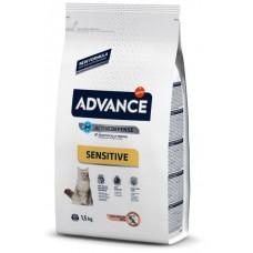 Advance Cat Adult Salmon Sensitive Для кошек с чувствительным пищеварением: лосось и рис