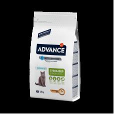 Advance Cat Junior Sterilized Для стерилизованных кошек до 2 лет с курицей