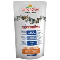Almo Nature Alternative корм для кошек со свежим цыпленком (55% мяса) 750г (P20631)