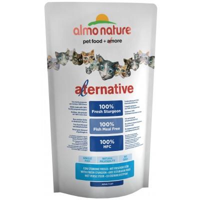 Almo Nature Alternative корм для кошек со свежим осетром (55% мяса) 750 г (P20633)