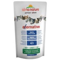 Almo Nature Alternative корм для кошек со свежей перепелкой (50% мяса)