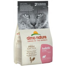 Almo Nature Holistic Kitten для котят с курицей и коричневым рисом