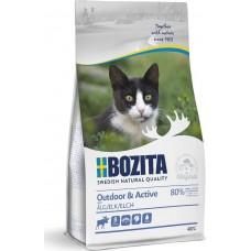 Bozita Outdoor & Active сухой корм для активных кошек с лосем