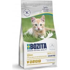 Bozita GRAIN FREE Kitten сухой корм для для котят и молодых кошек, беременных и кормящих кошек с курицей