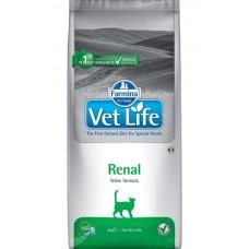 Farmina Vet life RENAL сухой корм для кошек при почечной недостаточности
