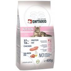 Ontario KITTEN для котят с курицей