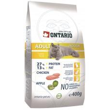 Ontario ADULT INDOOR для взрослых домашних кошек с цыпленком