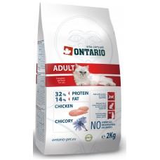 Ontario ADULT для взрослых кошек с курицей
