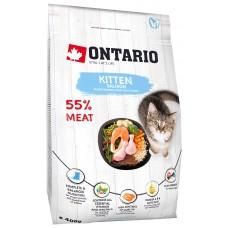 Ontario KITTEN для котят с лососем
