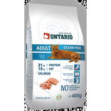 Ontario ADULT для взрослых кошек с морской рыбой