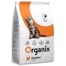 Organix ADULT KITTEN сухой корм для котят с индейкой