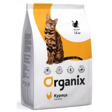 Organix ADULT CAT сухой корм для кошек с курицей