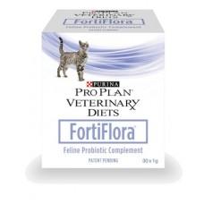 Purina Pro Plan FORTIFLORA Кормовая добавка для повышения иммунитета у кошек в гранулах, 30 пакетиков по 1 г (P24060)