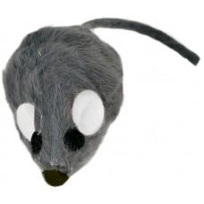 """Beeztees Игрушка для кошек """"Мышь-погремушка"""" меховая, 5см."""