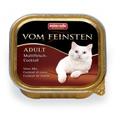 Animonda VOM FEINSTEN Adult Консервы для кошек коктейль из разных сортов мяса 100г (83441/P25142)