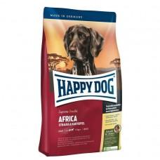 Happy Dog Африка корм для собак с мясом Страуса (Supreme Africa)