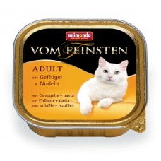 Animonda Vom Feinsten Adult с мясом домашней птицы и пастой 100 гр. (для взрослых кошек) (83851/10287)