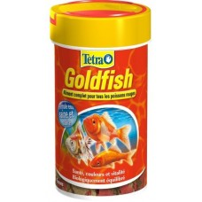 Тетра Tetra Goldfish Корм для золотых рыбок, хлопья