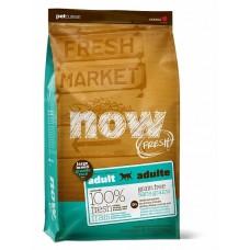 NOW FRESH Беззерновой для Взрослых собак Крупных пород с Индейкой, Уткой и овощами (Fresh Adult Large Breed Recipe Grain Free) 27/13
