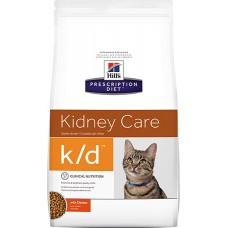 Hill's Prescription Diet KIDNEY CARE K/D с заболеваниями почек с курицей