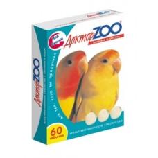 Доктор ЗОО мультивитаминное Лакомство для птиц, 60таб. (13007)