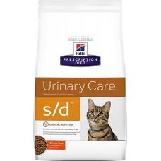 Hill's Prescription Diet URINARY CARE S/D для растворения струвитных уролитов и кристаллов