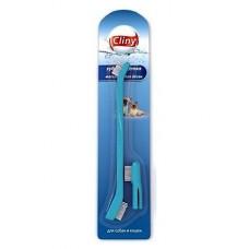 Экопром Cliny Зубная щетка + массажер для десен (К103)