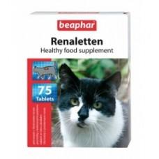 Beaphar Renaletten витамины для кошек, профилактика МКБ, 75 табл. (10660)