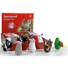 """Beeztees игрушка для кошек """"Неваляшка"""" плюшевая, 7,5см. (440360)"""
