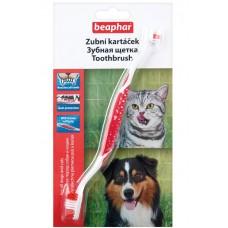 Beaphar Toothbrush Зубная щетка двойная для собак (13226)