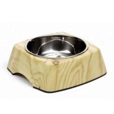 Beeztees Wood Миска 2 в 1 для собак