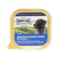 Happy Dog Паштет для собак с деликатесной рыбой 150 гр. (10607)