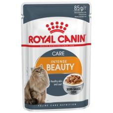 Royal Canin INTENSE BEAUTY Влажный корм для кошек с чувствительной кожей и проблемной шерстью, 85гр.