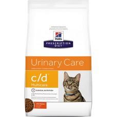 Hill's Prescription Diet URINARY CARE C/D MULTICARE при урологическом синдроме с курицей