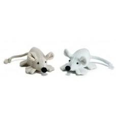 """Beeztees 440462 Игрушка для кошек """"Мышь с широкими лапками"""" в ассортименте 6см (C25890)"""