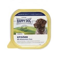 Happy Dog Паштет для собак с кроликом 300гр. (10601)