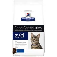 Hills Prescription Diet ALLERGY & SKIN CARE Z/D корм диета для кошек лечение острых пищевых аллергией, 2кг (C99879)