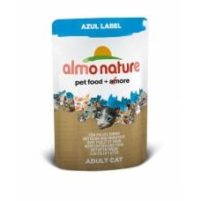 Almo Nature Azul Label пауч для кошек с Курицей и Тунцом 70гр. (23371)