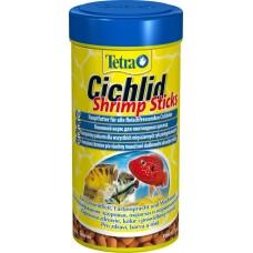 Тетра 199095 Tetra Cichlid Shrimp Sticks Корм для цихлид с высоким содержанием креветок, палочки 250мл (15772)