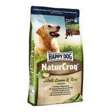 Happy Dog корм для собак с ягненком и рисом (NaturCroq Lamm&Reis) 15кг (08052)
